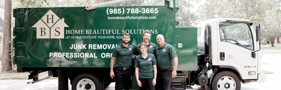 Junk Removal Team Home Beautiful Solutions