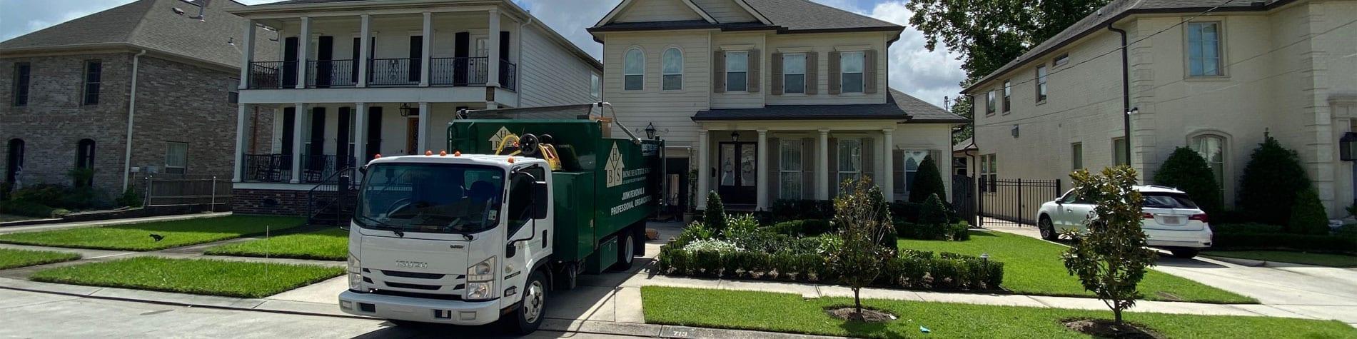 Junk Removal New Orleans Neighborhood HBS Junk Removal